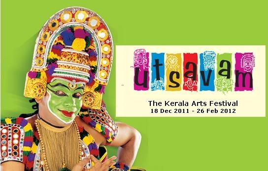 Utsavam 2012 – The Kerala Arts Festival till 26 Feb 2012